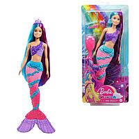 Кукла Барби русалочка русалка дримтопия с аксессуарами Barbie Dreamtopia Mermaid Doll Mattel GTF39