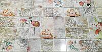 Стінні декоративні панелі Пвх для кухні.офісу.ванни. мозайка Романтика*960мм-1шт