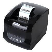 ✅ Xprinter XP-365B Принтер чеков-этикеток 2в1