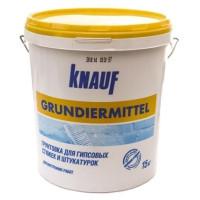 Грунтовка Грундирмиттель (Grundiermittel) KNAUF, 10 л, Украина