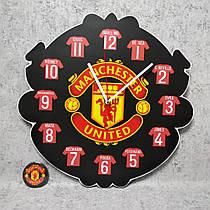 Настенные часы и магнит Манчестер Юнайтед