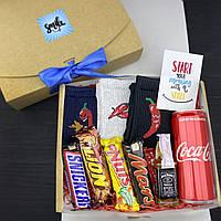 Подарочный набор мужской со сладостями