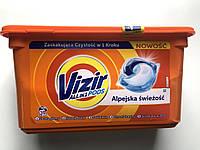 Капсули для прання кольорової Vizir all in 1 Alpejska swiezosc , 38шт