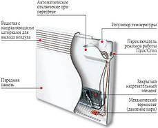 Конвектор электрический Atlantic F17 DESIGN 2000 Вт, фото 3