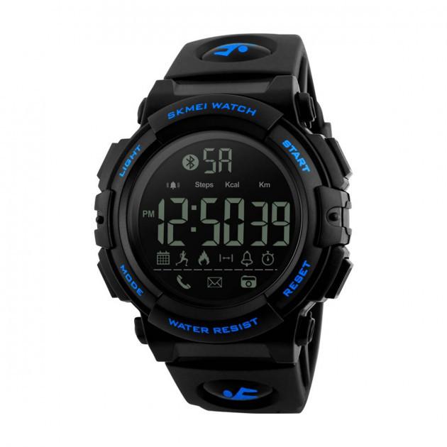 Skmei 1303 синий  мужские спортивные часы