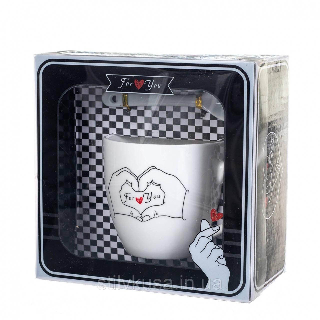 Чашка For You, 150 мл. Рандомный выбор дизайна