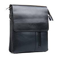 Сумка мужская планшет эко-кожа DR. BD 012-74 black, фото 1
