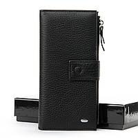 Мужской кожаный клатч DR. BOND WMB-1 black