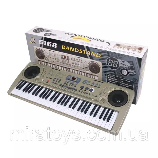 Большой детский синтезатор MQ 6168.