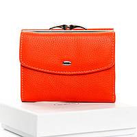 Оранжевый стильный кошелек Classic кожа DR. BOND WS-11 orange, фото 1