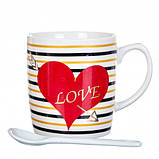 Чашка Love, 150 мл. Рандомный выбор дизайна, фото 2