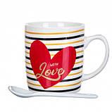 Чашка Love, 150 мл. Рандомный выбор дизайна, фото 3