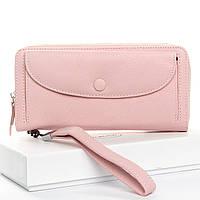 Женский кошелек кожа DR. BOND WS-22 pink, фото 1
