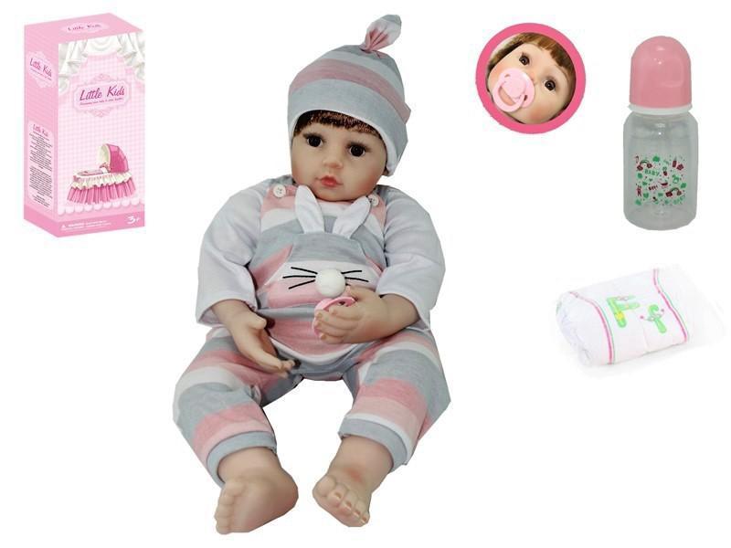 AD2201-4 Вінілова Лялька Reborn Дівчинка 60 см
