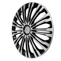 Колпаки на колеса Volante silver-black   R17