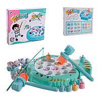 TT6015D-1 Игровой набор рыбалка 2в 1 Рыба-хомяк в форме рыбки