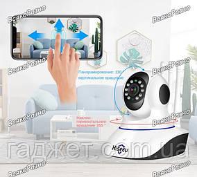Wi-Fi IP камера Hiseeu с 3 антеннами.Беспроводная IP камера с WIFI HD Hiseeu