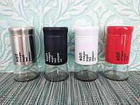 Емкость для специй A-PLUS (600-3)   Баночка для соли, перца 4,5*11 см   Набор баночек для специй  