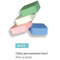 НАБОР - ГУБКИ ДЛЯ МАКИЯЖА SPL, 96432, 4 ШТ