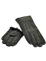 PODIUM Перчатка Мужская кожа M23-18 мод3 black кролик Распродажа