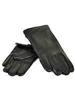 PODIUM Перчатка Мужская кожа M23-18 мод4 black кролик Распродажа