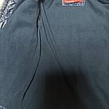 Куртка модная нарядная красивая оригинальная демисезонная на флисе синего цвета для мальчика., фото 2
