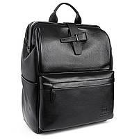 Рюкзак городской кожаный BRETTON BP 2004-7 черный, фото 1