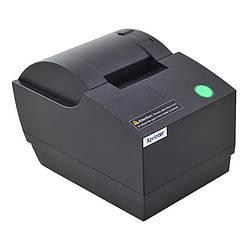 Чековый POS-принтер Xprinter XP-C58A USB (Гарантия 1 год) Black