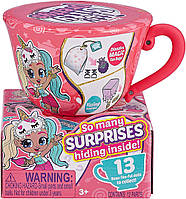 Игровой набор сюрприз Чаепитие с куклой Итти Битти Itty bitty prettys