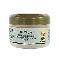 Маска BIOAQUA Pigskin Collagen для лица коллагеновая подтягивающая омолаживающая 100 г, фото 2
