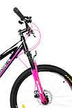 """Велосипед для дівчинки підлітка Crosser Girl 24"""" (рама з алюмінію), фото 3"""