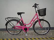 """Велосипед с низкой рамой Azimut Retro 26""""21 скорость ( 18 рама)"""