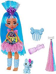 Кукла Пещерный Клуб Телла и питомец Ханч Cave Club Tella Оригинал от Mattel