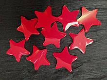 Аксесуари для свята Конфеті зірка червоний 35мм 100грам