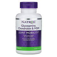 Glucosamine, Chondroitin & MSM ТМ Natrol / Натрол 90 таблеток