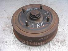 Задний тормозной барабан (+ ступица + подшипник) на Renault Trafic 1 год 1980-2001