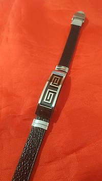 Мужские и женские кожаные браслеты с рисунками, браслеты оптом 153