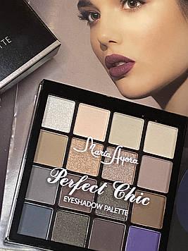 MARIA AYORA 16 Colors Eyeshadow Palette Waterproof Eye Makeup 01