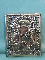 Старинная икона Св.Николай 19-й век