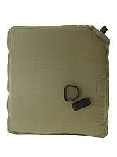 Каримат подушка-сиденье самонадувная  MIL-TEC 14416501 Olive