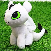 Мягкая игрушка KinderToys «Как приручить дракона?». Любимая игрушка Дракоша Дневное сияние Стефани (00688-3), фото 4