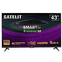 Телевизор SmartTV Android 43 дюйма Satelit 43F8000ST DVB-T2/C