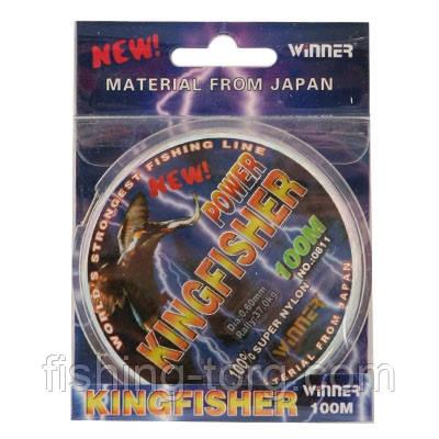 Монофильная леска Winner Kingfisher  0.30мм 100 м