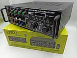 Усилитель звука UKC AMP AV-329BT 2*120W c Karaoke и Bluetooth, фото 2