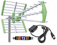 Антенна Т2 World Vision Maxima L + усилитель 25 dB + инжектор питания 5 В