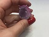 Агат жеода друза агата 16,2 размер кольцо с натуральным камнем жеода агата в серебре Индия, фото 7