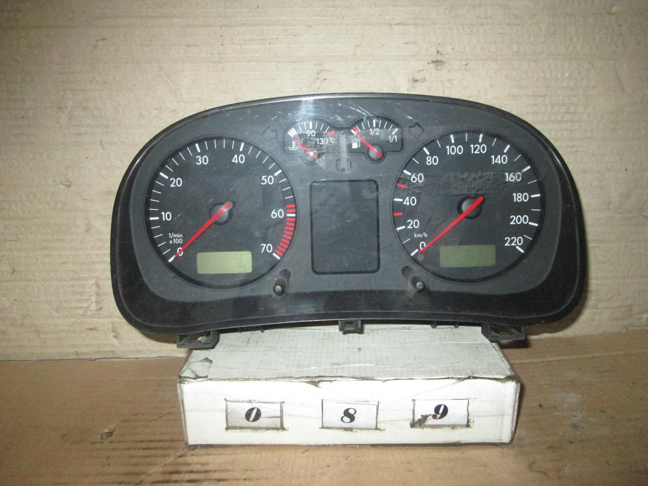 №89 Б/у Панель приладів/спідометр 1J0920801 для VW Golf IV Bora 1997-2004