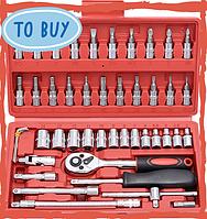 Набор инструментов 46 предметов (M-107)
