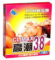 """""""Климакс 38"""" Climax 38,мощный женский возбудитель в каплях (5 мл)."""
