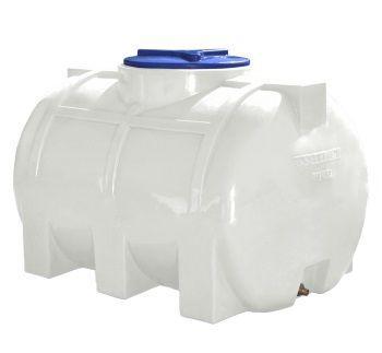 Бак, бочка, емкость 350 литров усиленная для транспортировки пищевая горизонтальная 300 400 RGО